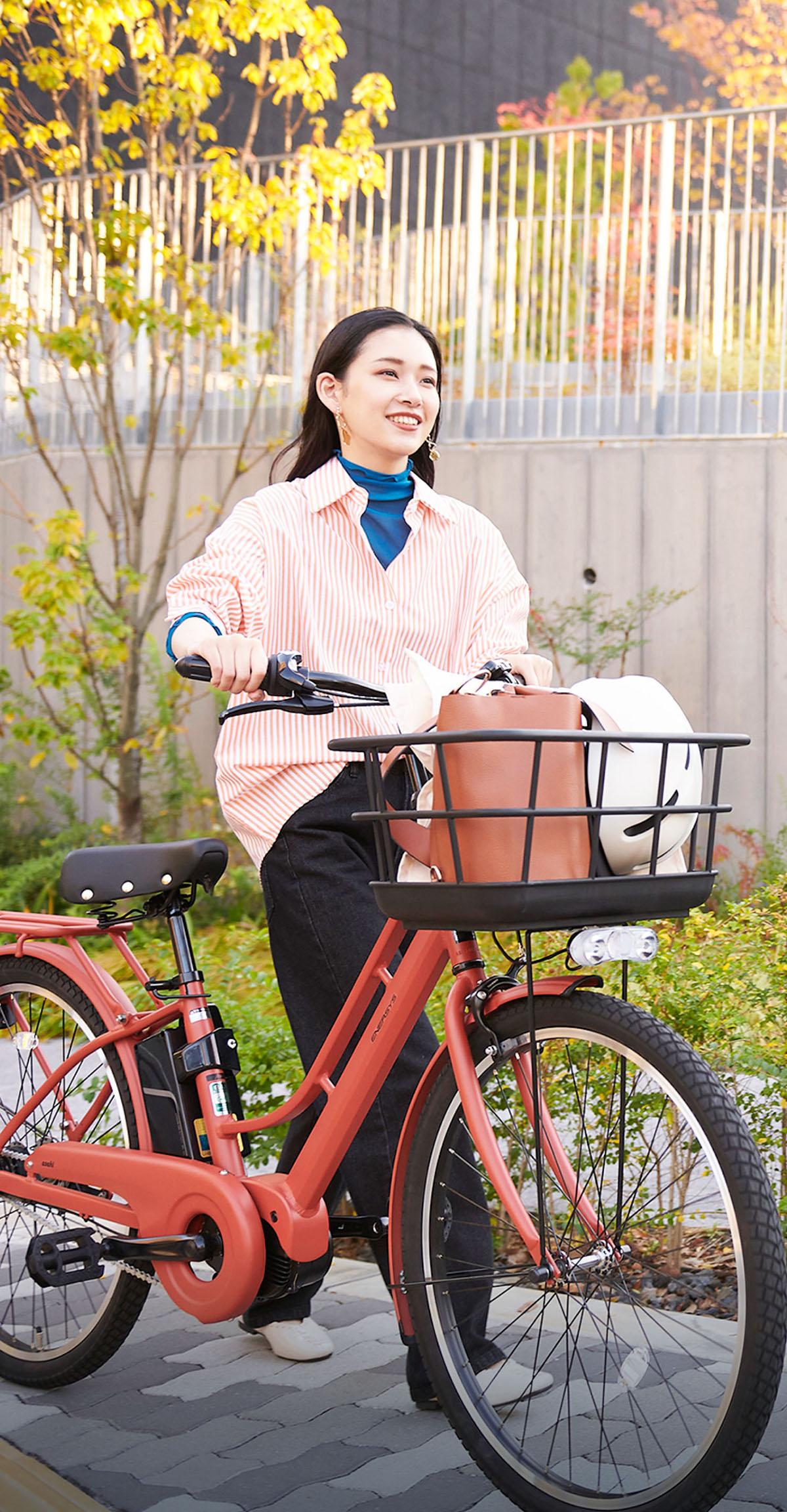 自転車 あさひ パワー 🤲フリー フリーパワー搭載シティサイクル サンライム