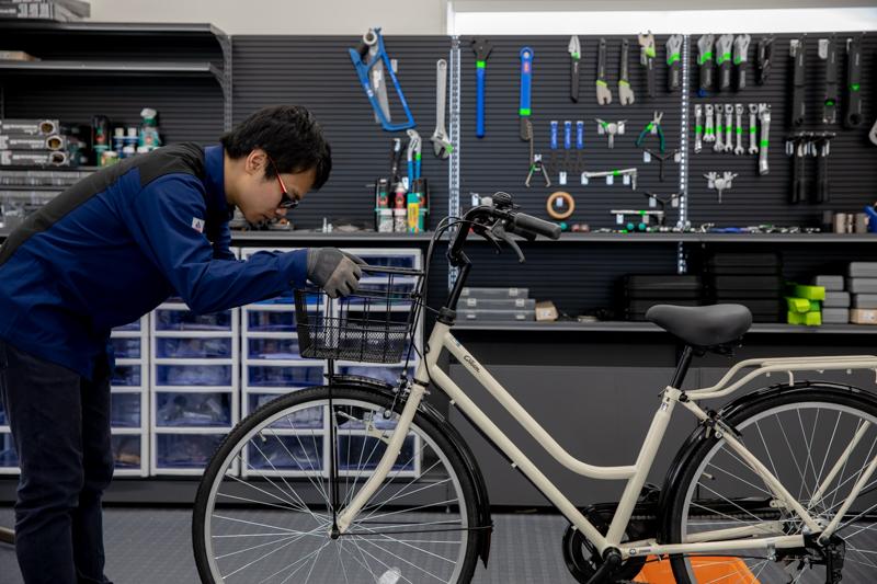 自転車 点検 あさひ